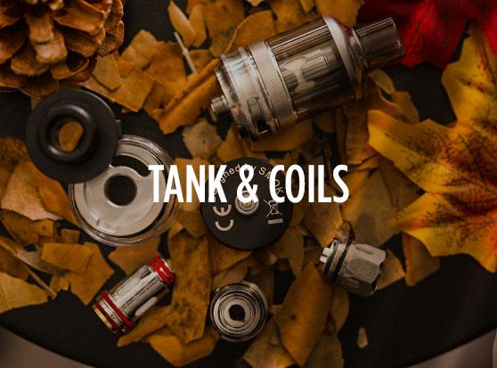 Vape Tanks, Sub-Ohm & Mesh